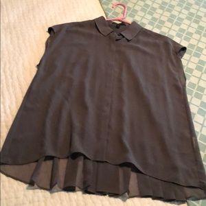 Banana republic, sleeveless blouse, M